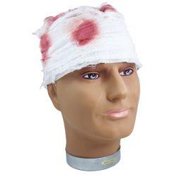 Karnevalový obväz na hlavu s krvou