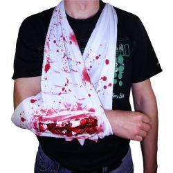Obväz zlomená ruka