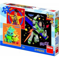 Puzzle 3v1 Toy Story 4