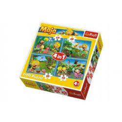 Puzzle 4v1 Včielka Mája