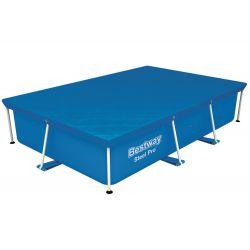 Bestway 58105 prikrývka na bazén s konštrukciou 259x170 cm