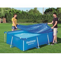 Bestway 58106 prikrývka na bazén s konštrukciou 300x201 cm