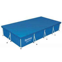 Bestway 58107 prikrývka na bazén s konštrukciou 400x211 cm