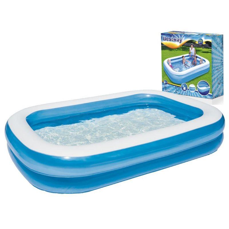 Bestway 54006 nafukovací bazén, 262 x 175 x 51 cm + prikrývka ZADARMO