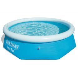 Bestway 57265 samonosný bazén, 244 x 66 cm + prikrývka
