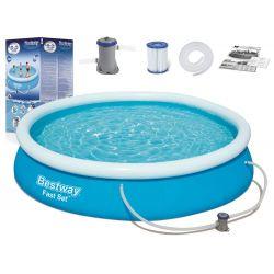 Bestway bazén 57274 samonosný 366 x 76 cm, 4v1