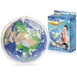 Bestway 31045 Svietiaca nafukovacia lopta s 3D efektom, 61 cm