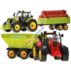 Traktor svlečkou, 40 cm, 2 modely