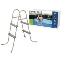 Bestway 2-stupňový bazénový rebrík Flowclear 84 cm 58430