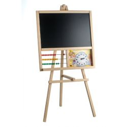 Drevená tabuľa s počítadlom 89 x 45 cm