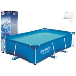 Bestway 56403 bazén s konštrukciou, 259 x 170 x 61 cm