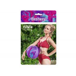 Bestway 31051, Štýlová plážová lopta s pierkami 41cm