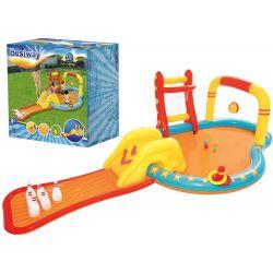 Bestway 53068 Nafukovacie detské ihrisko/bazén s kolkami a šmýkačkou
