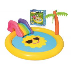 Bestway 53071 veselý detský bazénik so šmýkačkou
