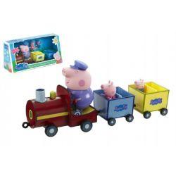 Peppa Pig vláčik + 3 figúrky