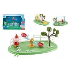 Peppa Pig detské ihrisko + figúrka