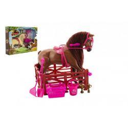 Kôň česací s doplnkami a ohradou