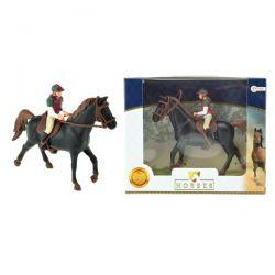 Kôň s džokejom