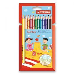 Stabilo Trio farebné ceruzky 12 ks