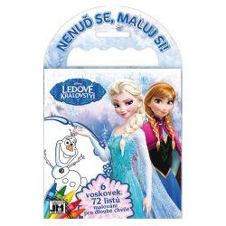 Omaľovánka na cesty Frozen