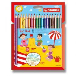 Stabilo Trio farebné ceruzky 18 ks