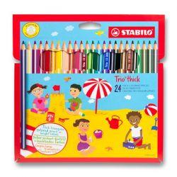 Stabilo Trio farebné ceruzky 24 ks