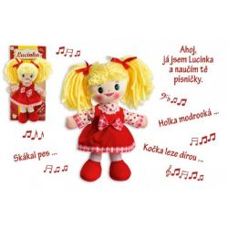 Látková bábika Lucka