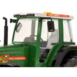 Veľký traktor na diaľkové ovládanie s vlečkou, 70 cm, nabíjateľná batéria