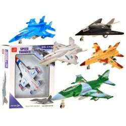 Naťahovacie kovové bojové lietadlo, 6 modelov