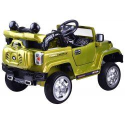 ELCARS elektrické autíčko Jeep Rancherio, odpružený, EVA kolesá, ŠPZ s menom