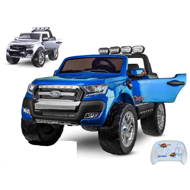 ELCARS Ford Ranger Wildtrack 4x4, dvojmiestne, lakované, 139cm