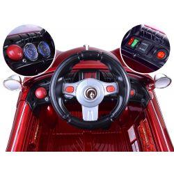 Elektrické autíčko Retro, 2 x motor, lakované