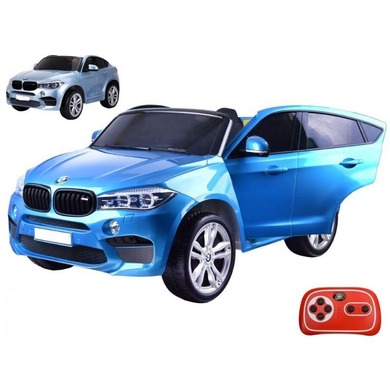 ELCARS  elektrické BMW X6, dvojmiestne, kožené sedačky, EVA kolesá, lak