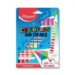 MAPED fixky Color´Peps Duo 20 farieb