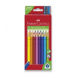 Farebné ceruzky trojboké JUNIOR 20 farieb