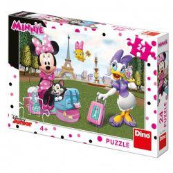 Puzzle Minnie v Paríži, 24 dielikov