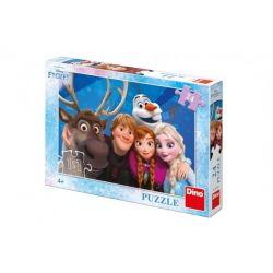 Puzzle Ľadové kráľovstvo, 24 dielikov
