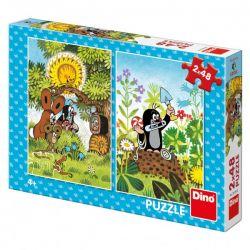 Puzzle Krtko, 2x48 dielikov
