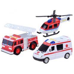 Sada záchranných vozidiel