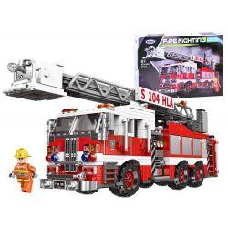 Stavebnica hasičské auto
