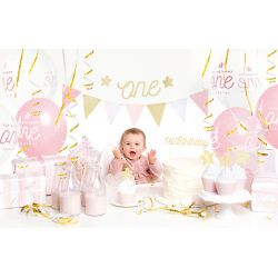 Sada dekorácií- 1st Birthday, zlaté