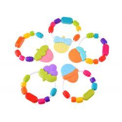 Farebná hrkálka – hryzadlo