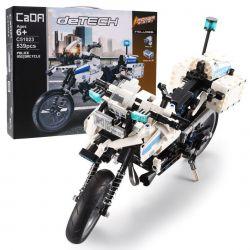 Technická stavebnica motorka