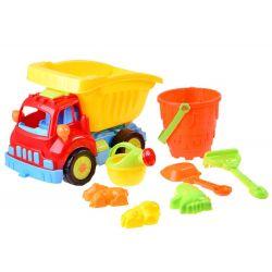 newVyklápacie auto + hračky do piesku