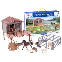 Farma s ohradou pre kozy + doplnky
