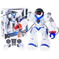 Interaktívny robot chodí a strieľa