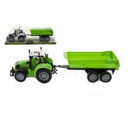 Traktor s vyklápacou vlečkou 35 cm