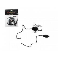 Skákajúci pavúk plyš/plast 7 cm