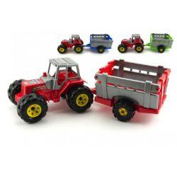 Traktor s vlečkou 51cm