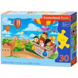 Castorland Puzzle Jazda balónom, 30 dielikov
